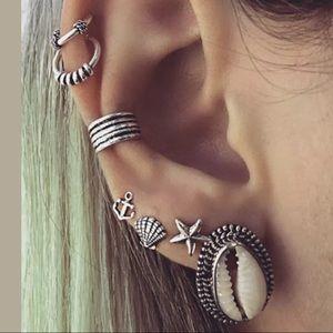 7 pc. Boho Earrings